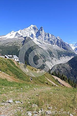 Mont-Blanc massif, Chamonix, France