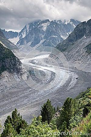 Mont Blanc, Mer de Glace