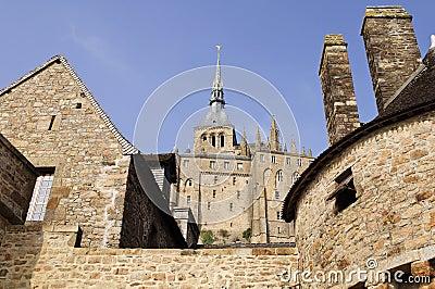 Mont du St. Michel in Francia