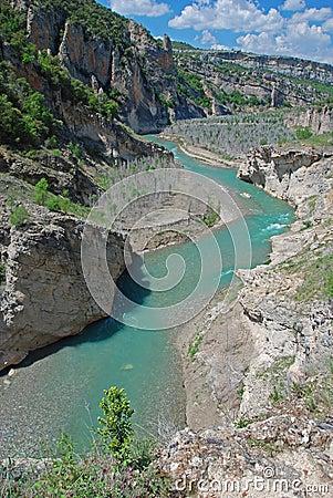 Mont Rebei gorge