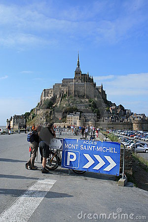 Mont Saint-Michel Editorial Photo