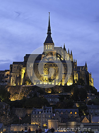 Free Mont Saint Michel Royalty Free Stock Image - 35721216