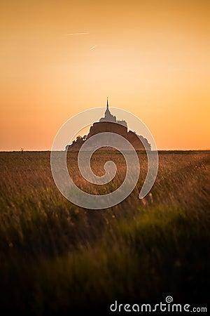 Free Mont Saint Michel Stock Photos - 61457453