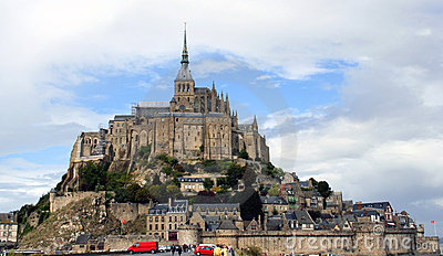 Mont Saint Michel Abbey, France