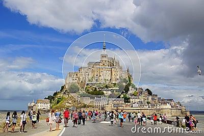 Mont Saint Michel. France. Editorial Image