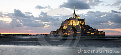 Mont-Saint-Michel, panoramic view