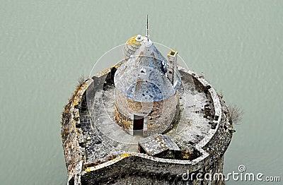 Mont-Saint-Michel rampart