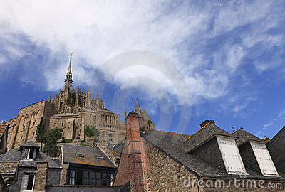 Mont Saint Michel skylines