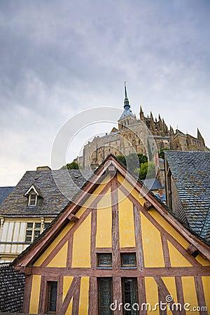 Mont St. Michel abbey