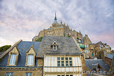 Mont St. Michel abbey