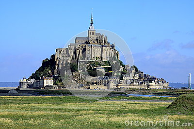 The mont St-Michel.  France