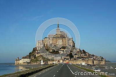Mont St Michel, France.