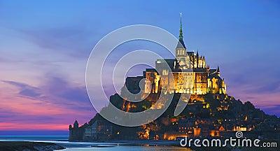 Mont St.Michel, Normandia, Francia