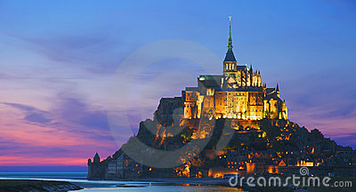 Mont St.Michel, Normandy, France