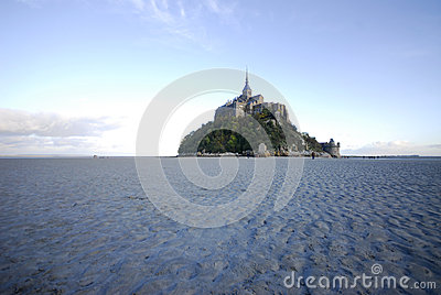 Mont St Michel from the north side