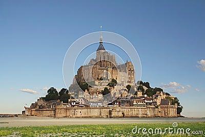 Mont-Str.-Michel in Normandie, Frankreich