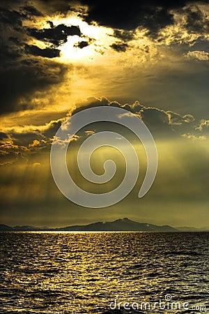 Montaña del mar de Sun
