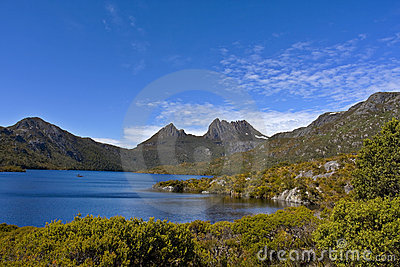 Montaña Tasmania Australia de la horquilla