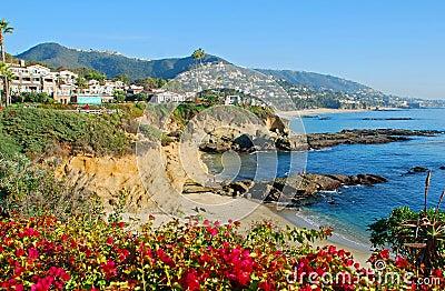 The Montage and beaches in Laguna Beach, Californi