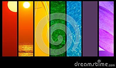 Montage colors