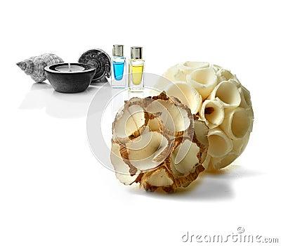 Montagem da aromaterapia