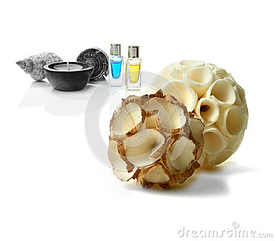 Montaggio di aromaterapia