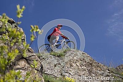 Montagna della bici