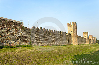 Montagnana (Italy) - Medieval walls