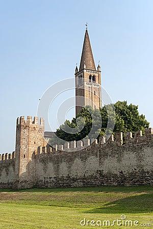Montagnana (Veneto, italy) - Medieval walls