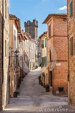 Montalcino, Tuscany, Italy