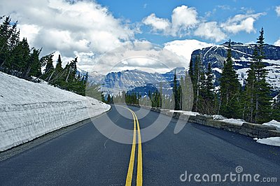 Montana Mountain Road
