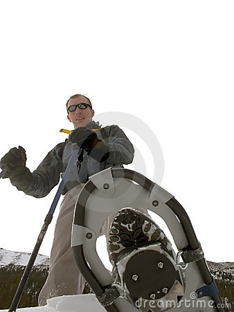 Montana snowshoeing