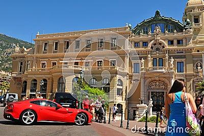 Monte Carlo Foto de archivo editorial
