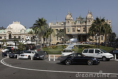 Monte Carlo casino Editorial Stock Photo