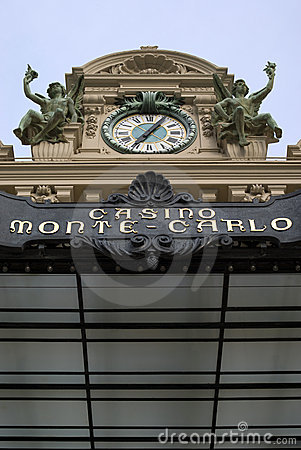 Monte Carlo Casino Editorial Photography