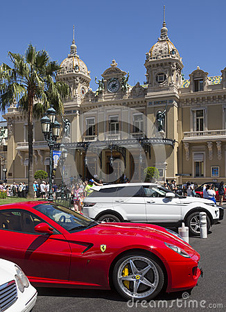 Monte Carlo Casino - Monaco Editorial Photography