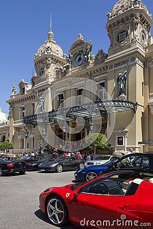 Monte Carlo Casino - Monaco Editorial Image