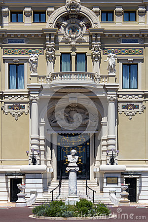 Monte Carlo Casino - Monaco Editorial Stock Photo