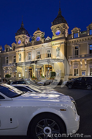 Monte Carlo Casino - Monaco Editorial Photo