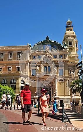 Monte Carlo Editorial Stock Image