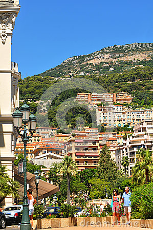 Monte Carlo Editorial Stock Photo
