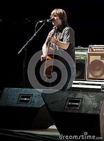 Monte Montgomery In Concert Editorial Stock Image