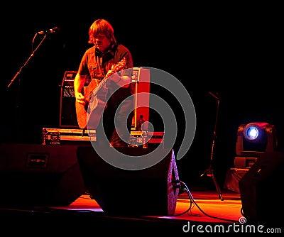 Monte Montgomery In Concert Editorial Image