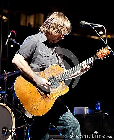 Monte Montgomery In Concert Editorial Photo