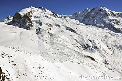 Monte Rosa and Liskamm