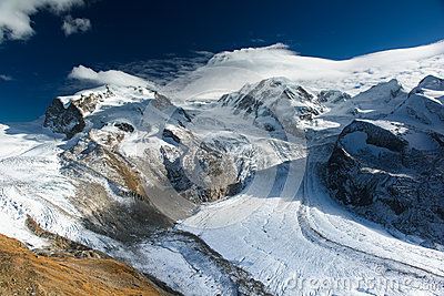 Monte Rosa and Lyskamm