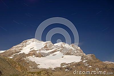 Monte Rosa mountain