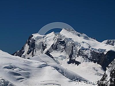 Monte Rosa Mountain Ridge