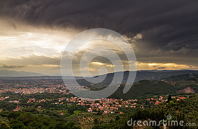 Montecatini dark weather