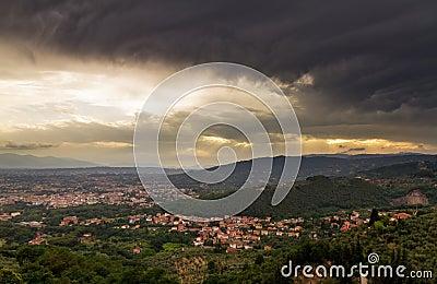 Montecatini dark weather